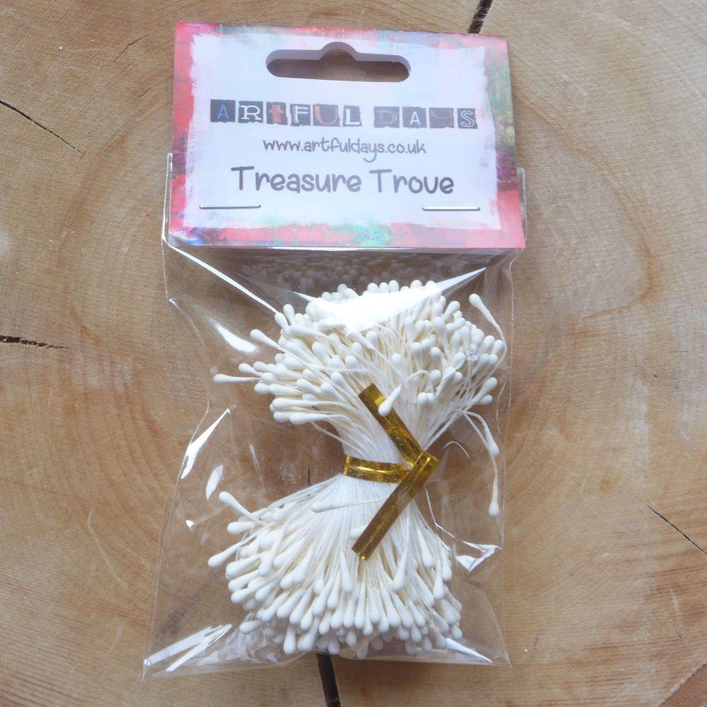 Stamens for Flower Centres - Matt White (F6045)