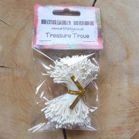 Stamens for Flower Centres - Vintage Matt White (F6046)