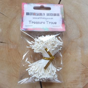 Stamens for Flower Centres - Vintage Matt White (F6046)