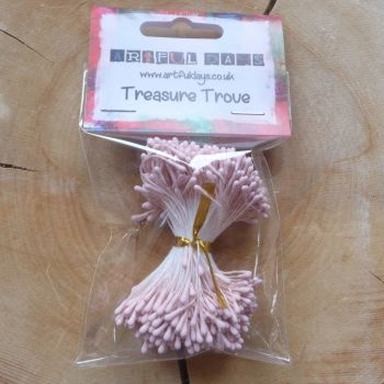 Stamens for Flower Centres - Vintage Matt Pink (F6048)