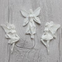 White Resin Fairies (R7017)