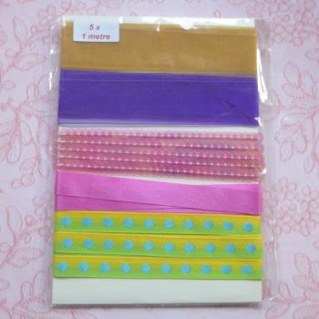 Assorted Ribbons One