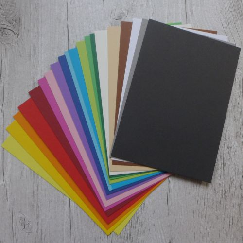 May Extra (Summer Colour) - Rainbow A6 Cards