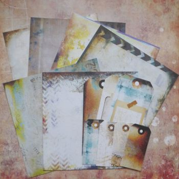 August Extra (Tea Party Time) - 7 Dots Studio Papers & Tags