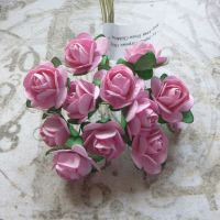 Mulberry Paper Roses ~ Pink (PF016)