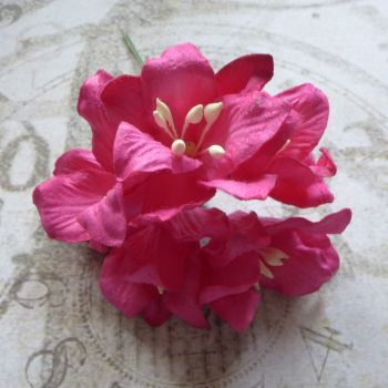Mulberry Paper Lilies ~ Hot Pink (PF029)