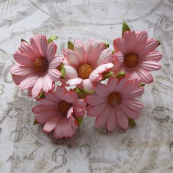 Mulberry Paper Daisies ~ Pink (PF034)