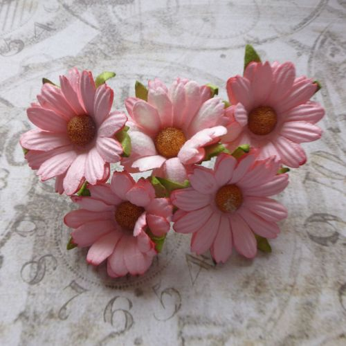 Mulberry Paper Daisies ~ Pink (PF037)