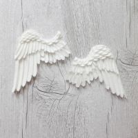 White Resin Wings Set Two (R7024)