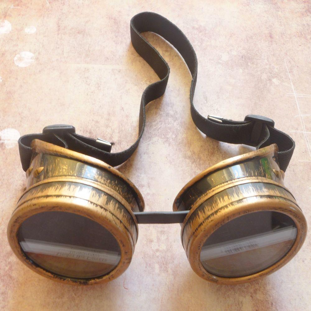 Steampunk Googles - Bronze