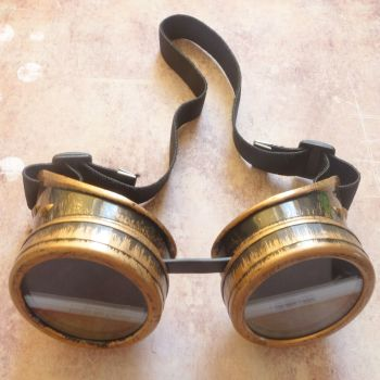 Steampunk Googles - Bronze