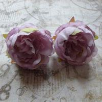 Peony Fabric Flowers ~ Lilac (F6043)