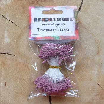 Stamens for Flower Centres - Vintage Matt Rose (F6000)
