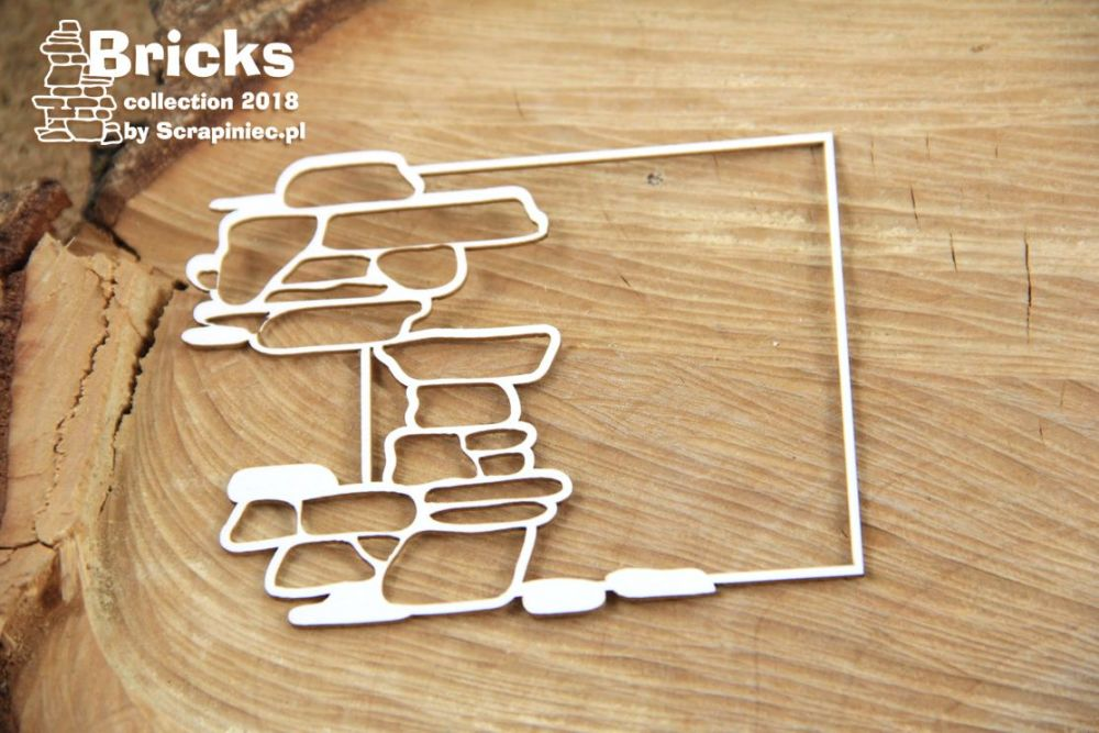 Bricks - Square Frame (4948)