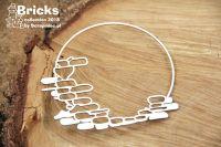 Bricks - Circle Frame (4947)