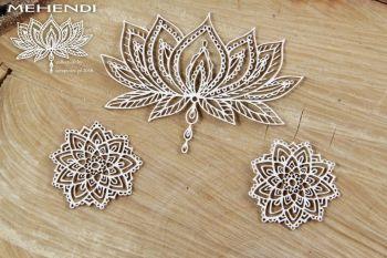 Mehendi - Lotus (4273)
