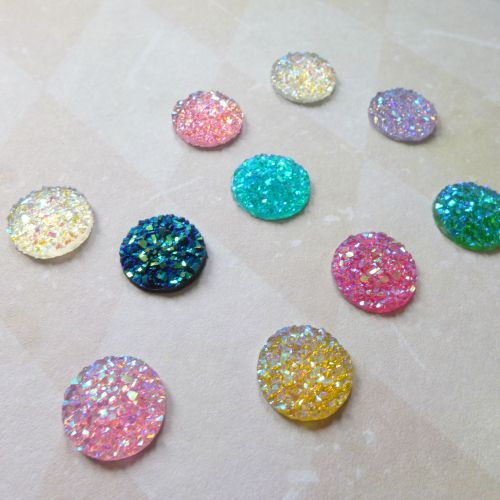 High Sparkle Gem Cabochons