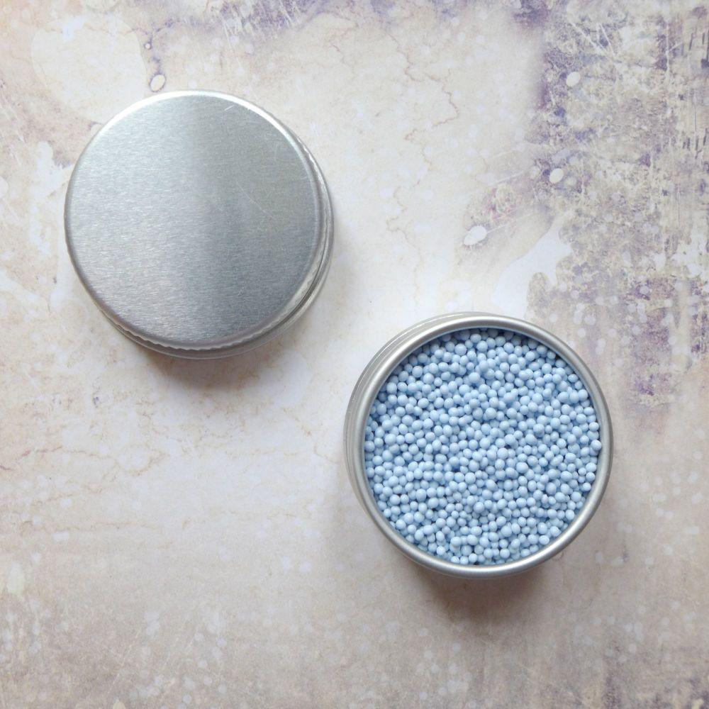 Petite Pots ~ Matt Micro Beads Pale Blue 06