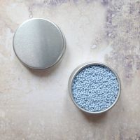 Petite Pots ~ Matt Micro Beads Pale Blue 06