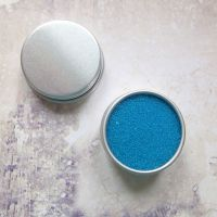 Petite Pots ~ Translucent Micro Beads Pretty Blue 07