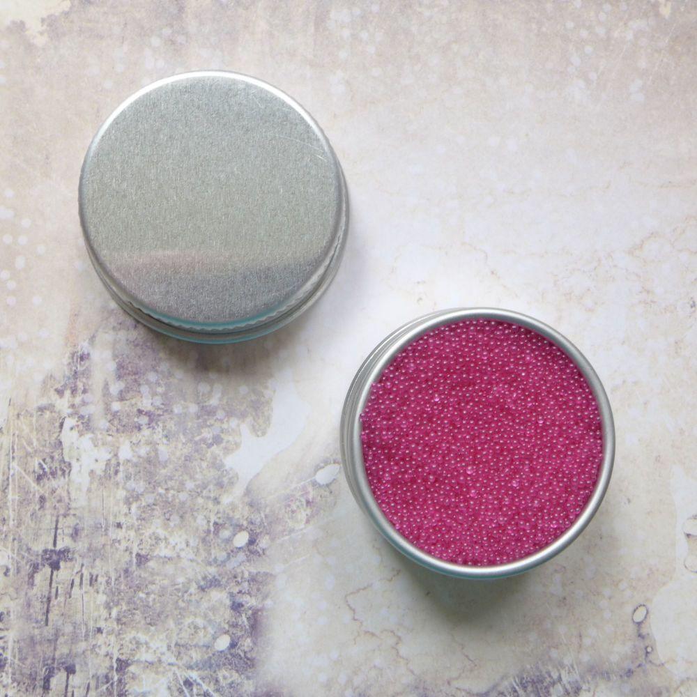 Petite Pots ~ Translucent Micro Beads Perfect Pink 11