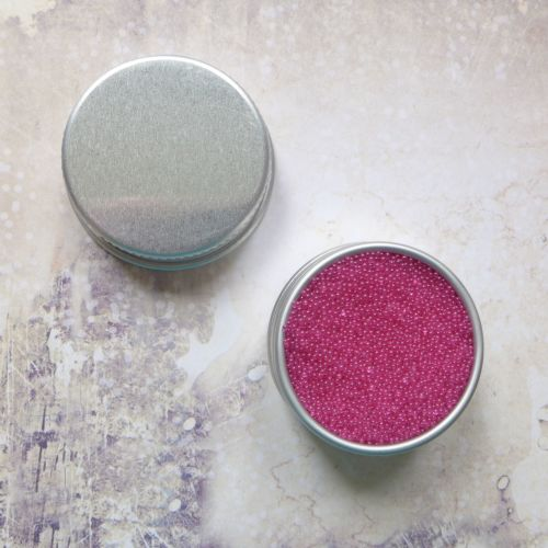 Petite Pots ~ Translucent Micro Beads Perfect Pink 11