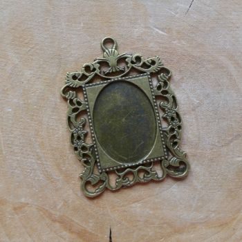 Vintage Rectangle Frame (C140)
