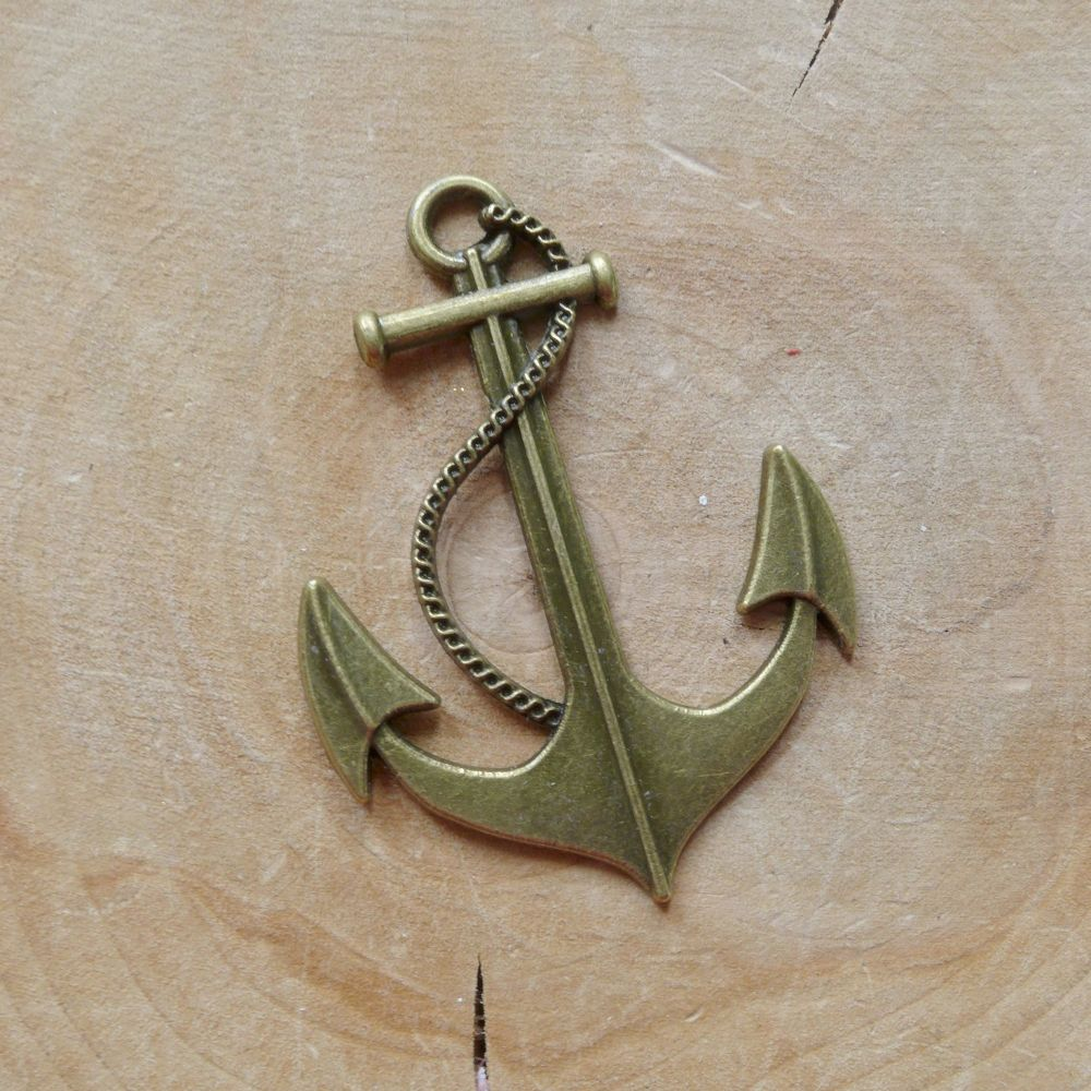 Large Bronze Anchor (C142)
