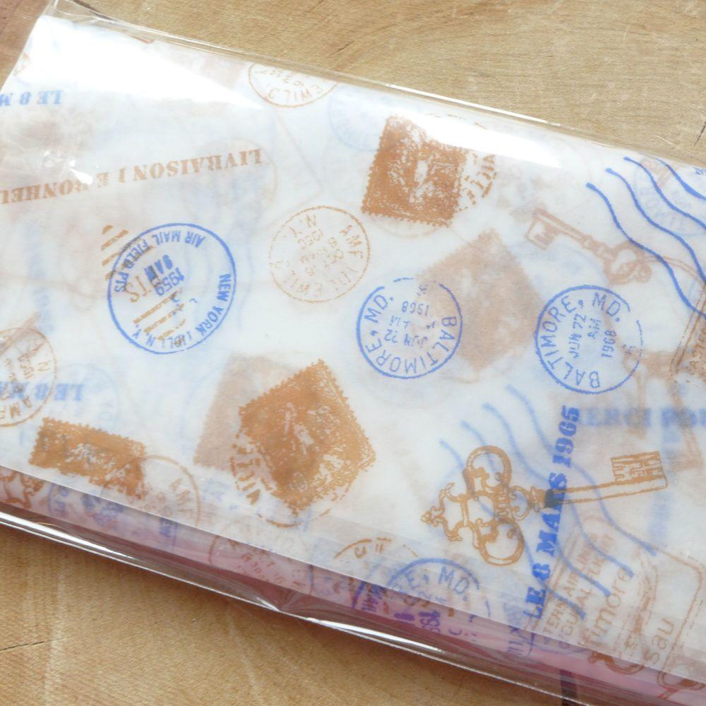 Postal/Key Wax Papers (PA006)