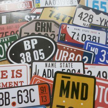 Bumper Plate Stickers (PA010)