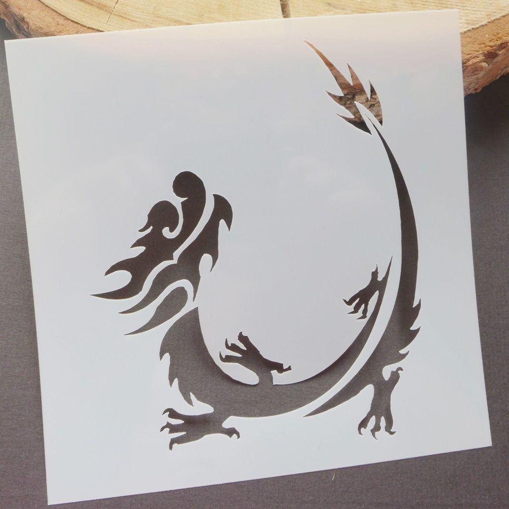 Stencil ~ Dragon