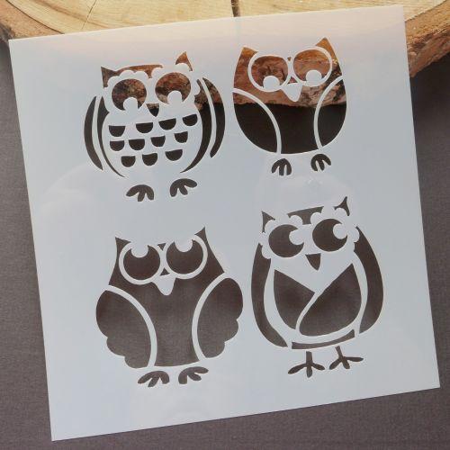 Stencil ~ Owls