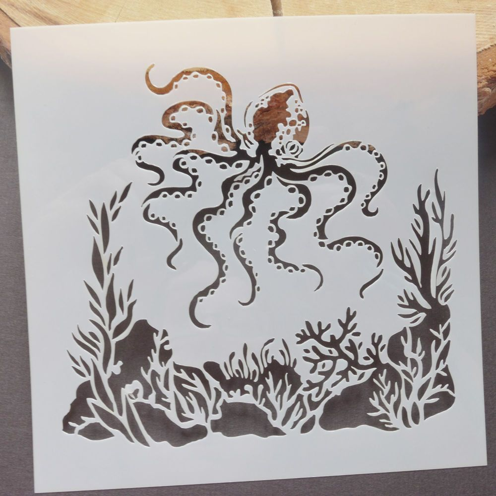 Stencil ~ Octopus