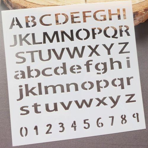 Stencil ~ Alphabet Letters