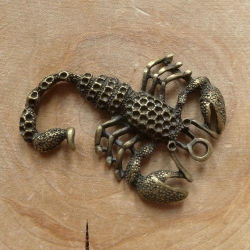 Large Scorpion Charm (C163)
