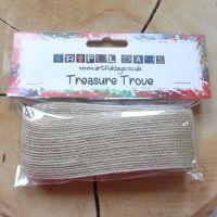 Natural Rustic Woven Ribbon