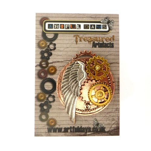Treasured Artefacts - Round Winged Steampunk (TA206)
