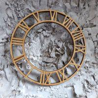 MDF Roman Clock - Large (ADM002)