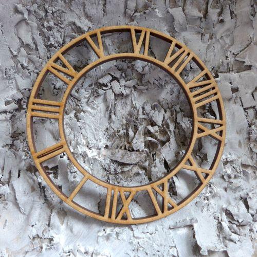 MDF Large Roman Clock (ADM002)