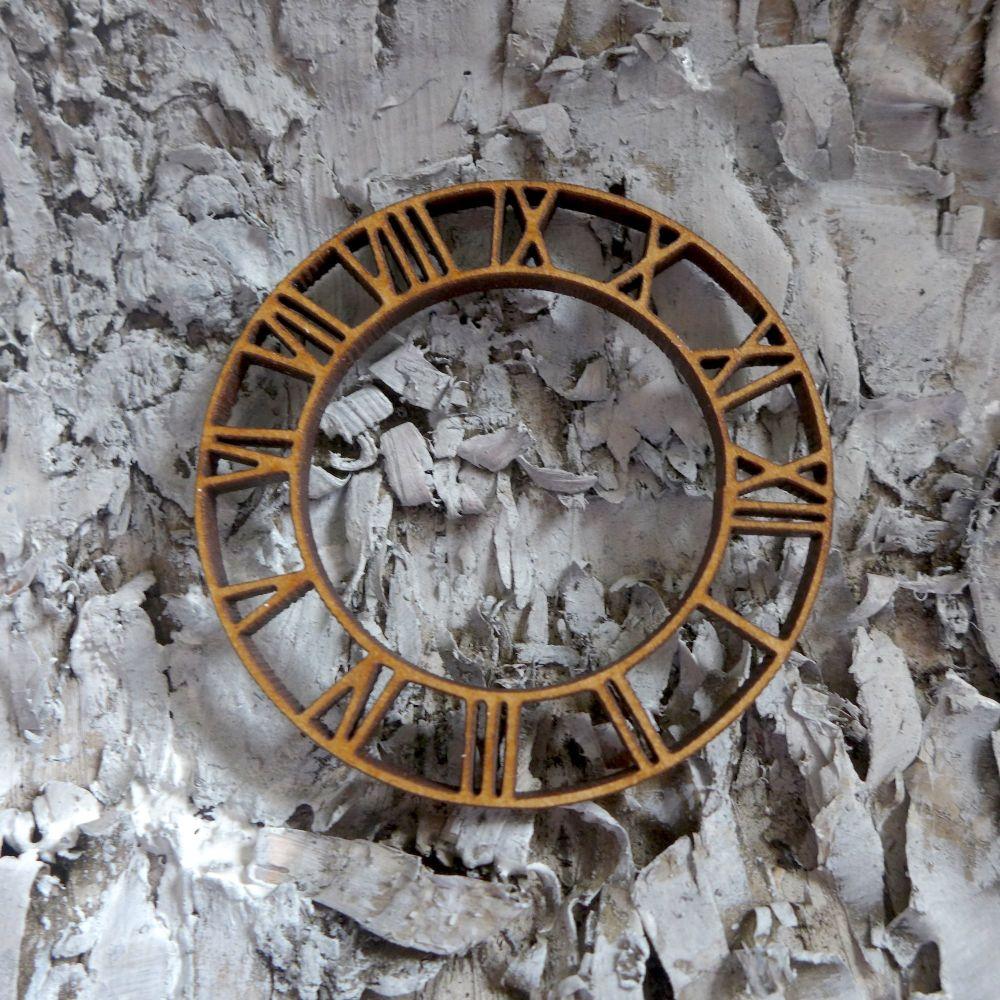 Small MDF Roman Clock (ADM003)