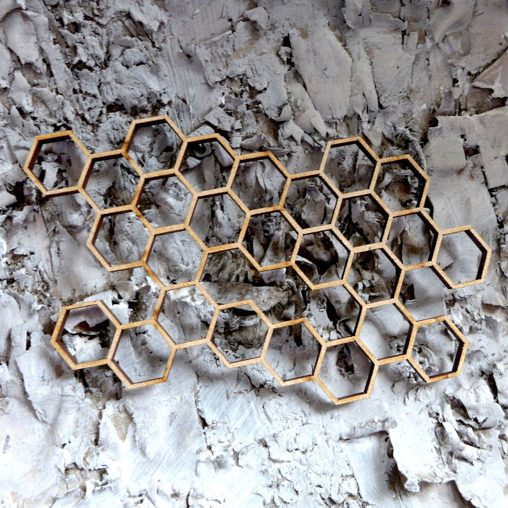 MDF Hexagons (ADM010)