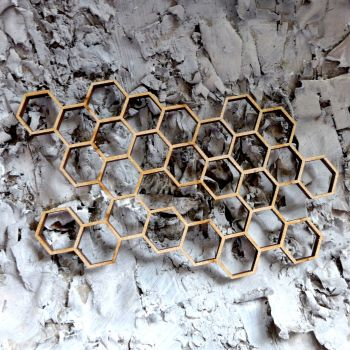 MDF Hexagons (ADM010)