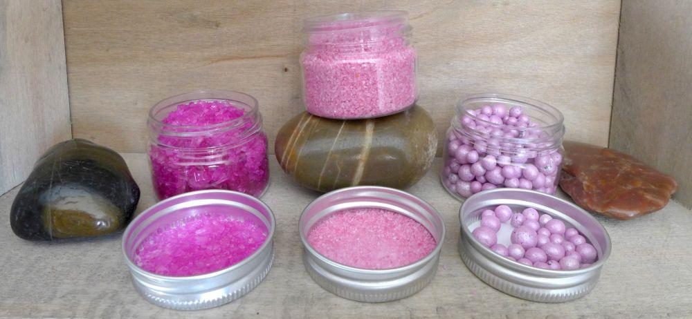 Artful Days, Textured Trio's - The Pink Set