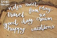 Summer Travelove - Inscription Words (5123)