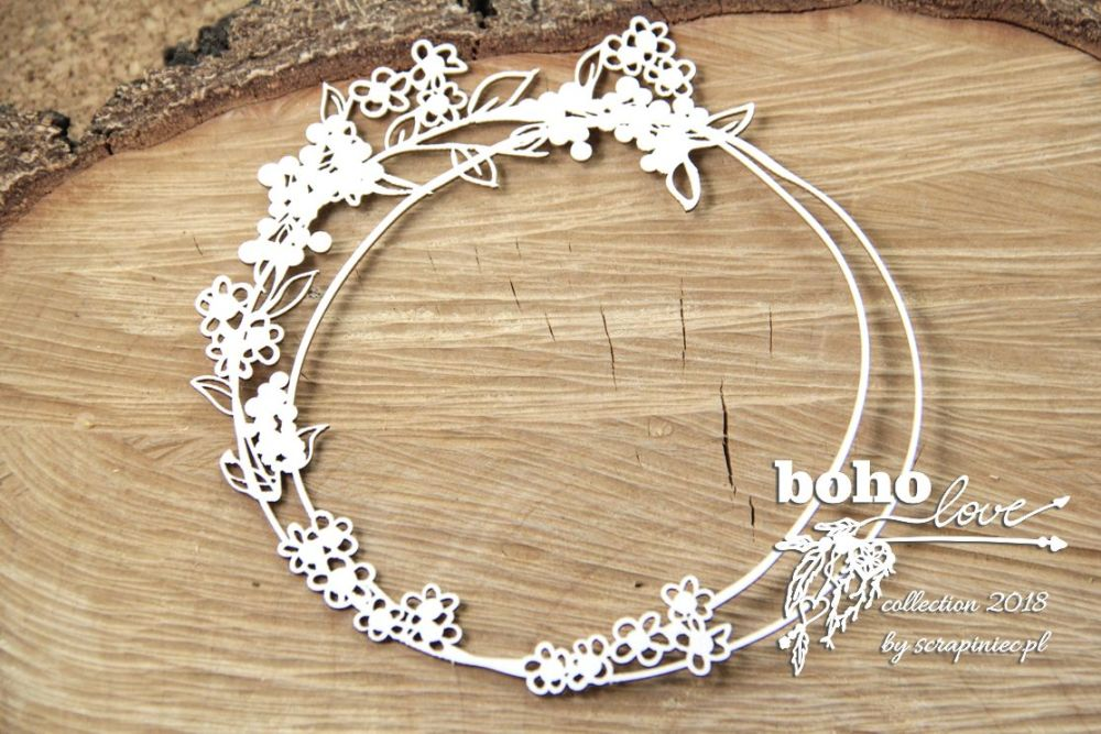 Boho Love - Round Frame (5155)