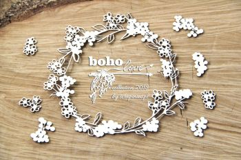Boho Love - Small Wreath (5146)