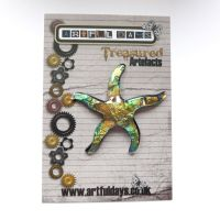 Treasured Artefacts - Prismatic Resin Starfish (TA2023)