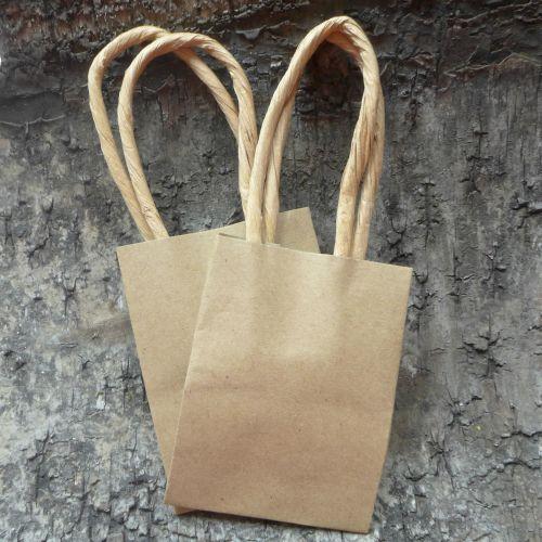 Mini Kraft Gift Bags x 2
