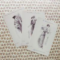 Crafty Postcards ~ Imperial Ladies (PA018)