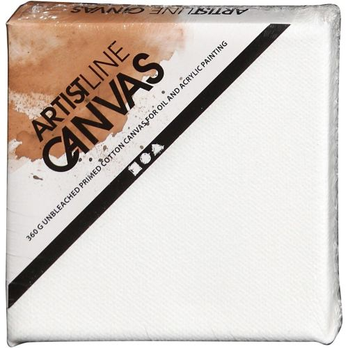 Artistline Canvas - White 10 x 10cm